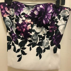 WHBM bustier top